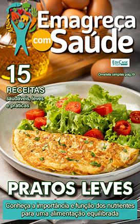 Emagreça Com Saúde Ed. 08 - Pratos Leves - *PRODUTO DIGITAL (PDF)