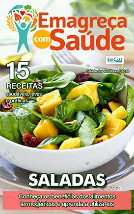 Emagreça Com Saúde Ed. 09 - Saladas - *PRODUTO DIGITAL (PDF)