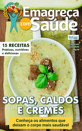 Emagreça Com Saúde Ed. 17 - Pratos Leves - Sopas, Caldos e Cremes - *PRODUTO DIGITAL (PDF)