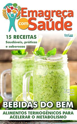 Emagreça Com Saúde Ed. 19 - Bebidas do bem - *PRODUTO DIGITAL (PDF)