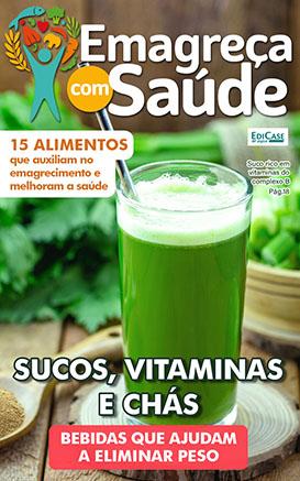 Emagreça Com Saúde Ed. 22 - Sucos, Vitaminas e Chás  - *PRODUTO DIGITAL (PDF)