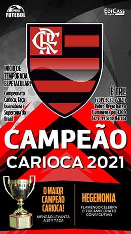 Especial Futebol Ed. 09 - Flamengo Campeão Carioca 2021 - PRODUTO DIGITAL (PDF)