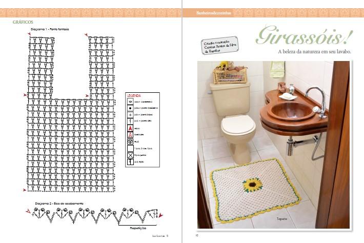 Faça Arte Ed. 19 - Barbantes: Banheiros e Cozinhas - *PRODUTO DIGITAL (PDF)