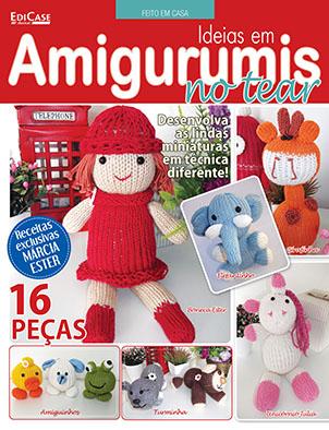 Feito Em Casa  Ed. 77 - Ideias em Amigurumis no Tear * PRODUTO DIGITAL (PDF)