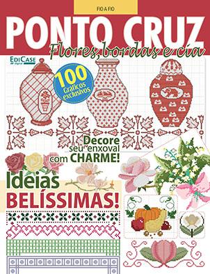 Fio a Fio Ed. 29 - Ponto Cruz - Flores, Bordas & Cia - *PRODUTO DIGITAL (PDF)