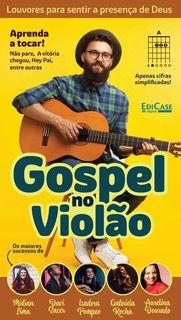 Gospel no Violão Ed. 35 - PRODUTO DIGITAL (PDF)  - EdiCase Publicações