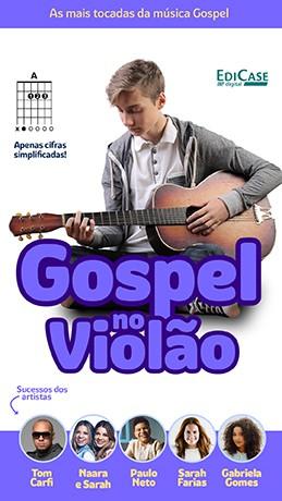 Gospel no Violão Ed. 39 - PRODUTO DIGITAL (PDF)  - EdiCase Publicações