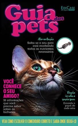 Guia dos Pets Ed. 06 - Você Conhece o Seu Amigo? - PRODUTO DIGITAL (PDF)