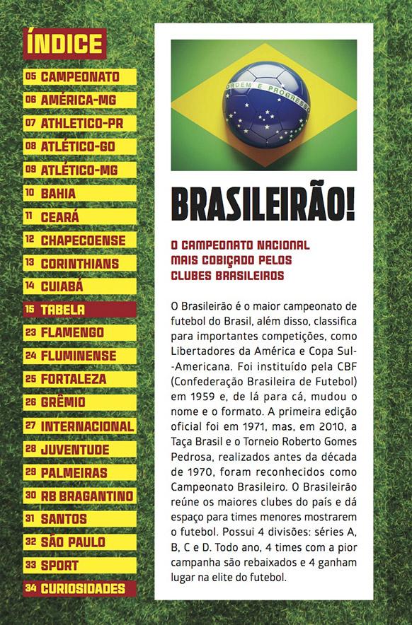 Guia Tabela do Brasileirão 2021 Ed.01