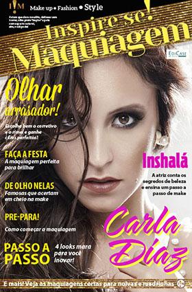 Inspire-se! Maquiagem - Ed. 03 - Carla Diaz - *PRODUTO DIGITAL (PDF)