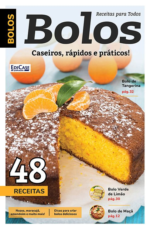 Kit c/ 9 Revistas - Culinárias - Diversas Receitas Deliciosas