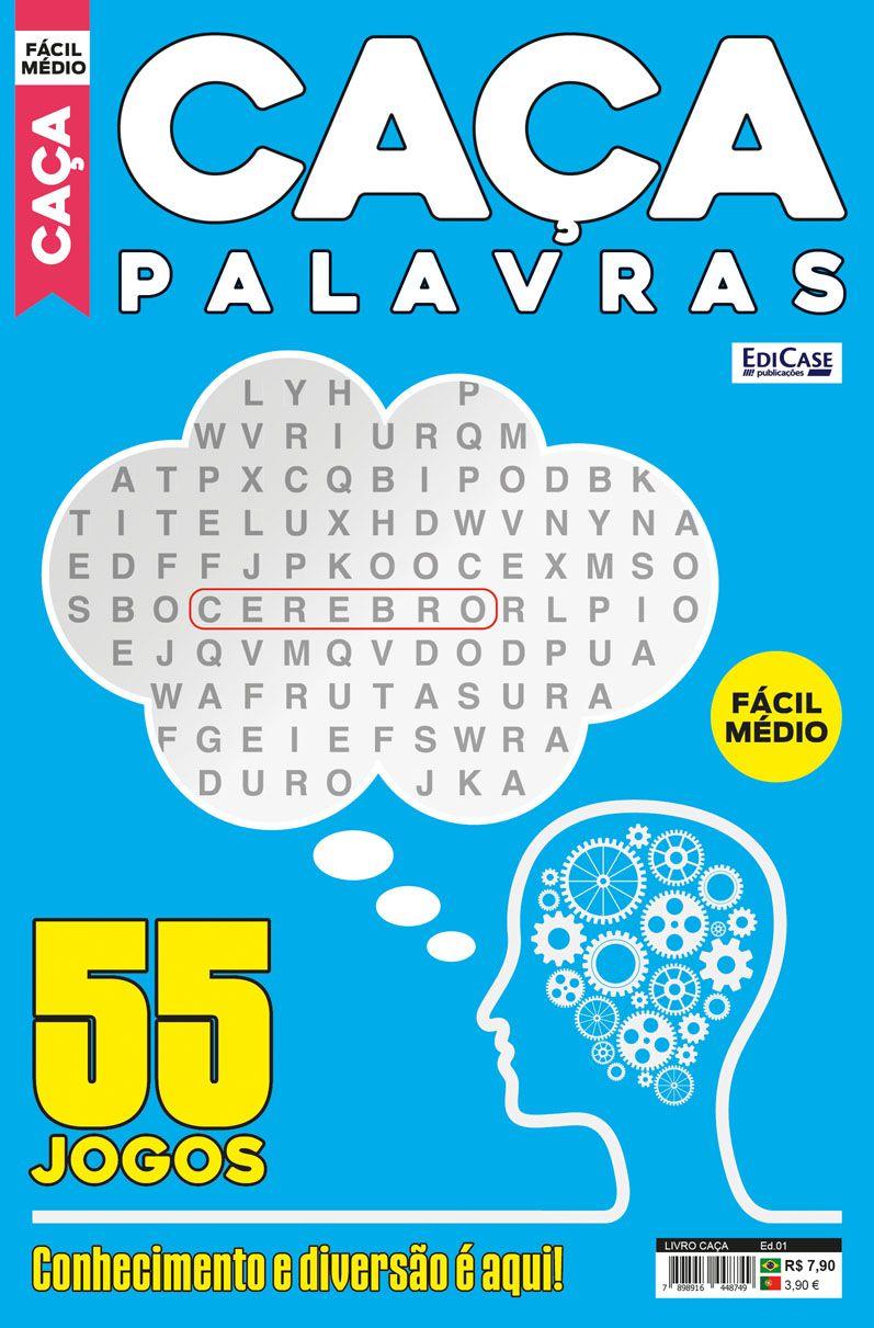 Livro Caça Ed. 01 - Fácil/Médio   - EdiCase Publicações