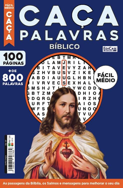 Livro Caça Ed. 07 - Fácil/Médio - Bíblico