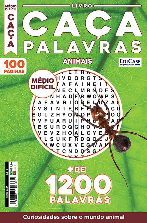 Livro Caça Ed. 13 - Médio/Difícil - Curiosidades Sobre o Mundo Animal
