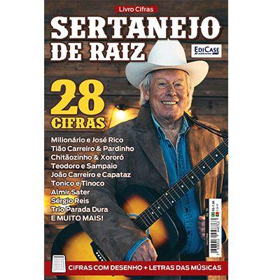 Livro Cifras Ed. 16 - Sertanejo Raiz  - EdiCase Publicações