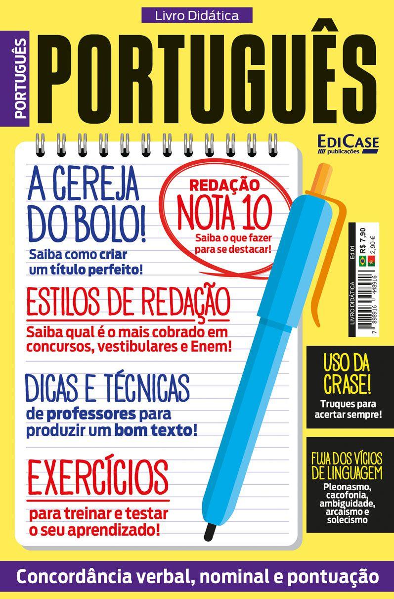Livro Didática Ed. 01 - Português  - EdiCase Publicações
