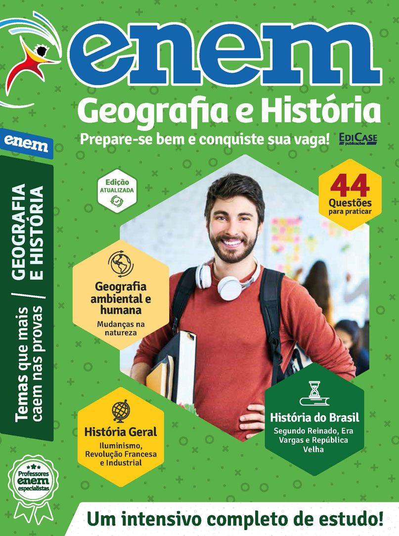 Livro ENEM 2019 Ed. 02 - Geografia e História  - EdiCase Publicações