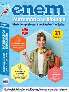 Livro ENEM 2020 Ed. 02 - Matemática e Biologia - PRODUTO DIGITAL (PDF)  - EdiCase Publicações
