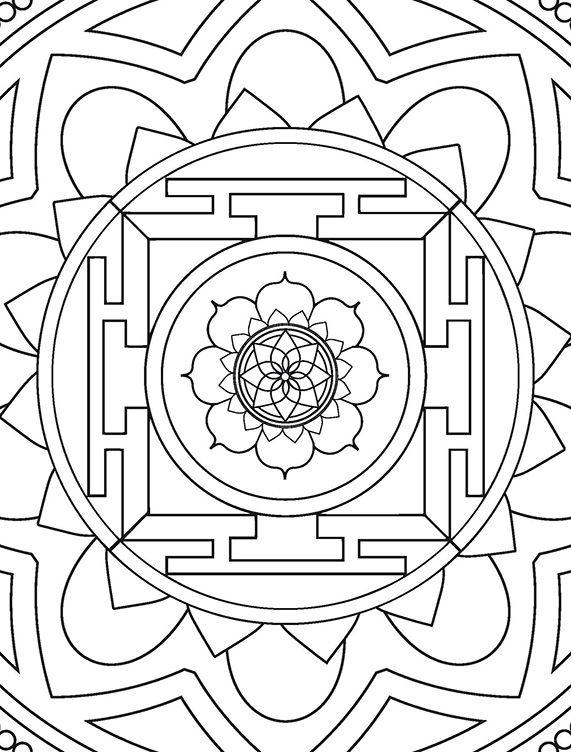 Mandalas do Nepal Ed. 01  - EdiCase Publicações
