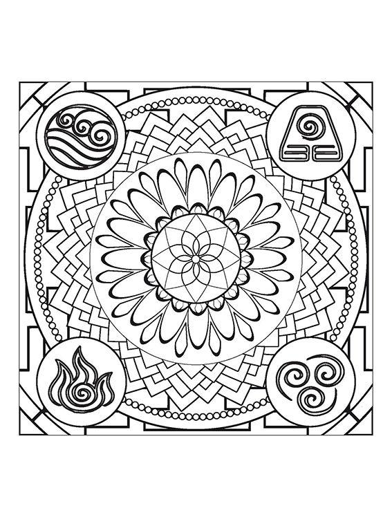 Mandalas do Nepal Ed. 02 - Os Quatro Elementos  - EdiCase Publicações