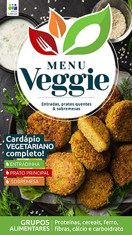 Menu Veggie Ed. 02 - Grupos Alimentares - *PRODUTO DIGITAL (PDF)