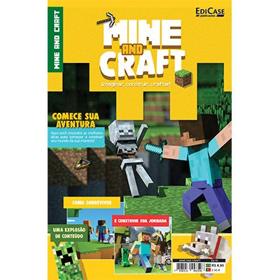 Mine And Craft Ed. 01 - Imaginar, Construir, Craftar  - EdiCase Publicações