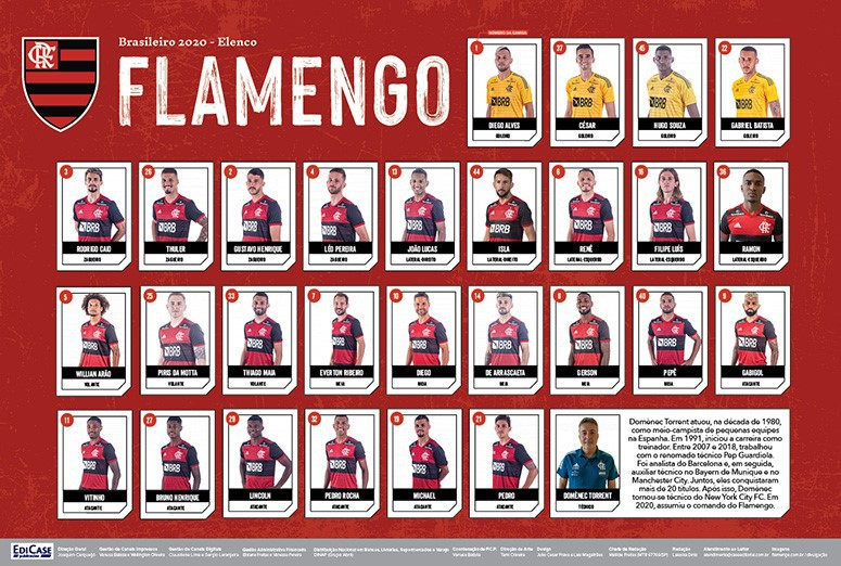 Minipôster Flamengo Ed. 01