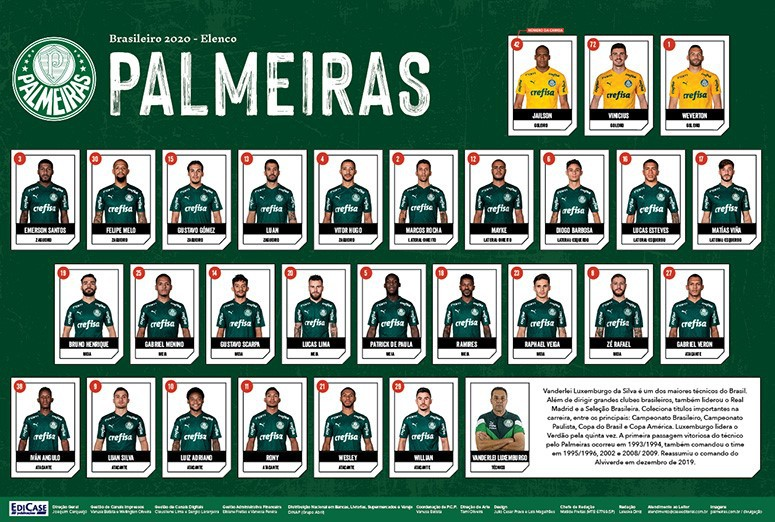 Minipôster Palmeiras Ed. 01