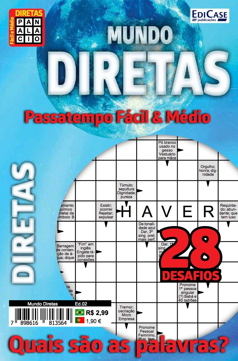 Mundo Diretas Ed. 02 - Fácil/Médio - 28 Desafios