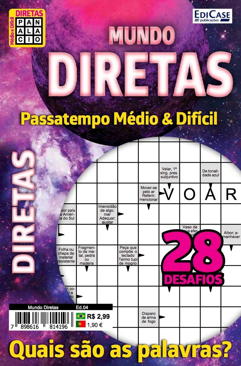 Mundo Diretas Ed. 04 - Médio/Difícil - 28 Desafios