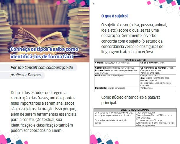 Orientações Enem Ed. 04 - REGÊNCIA VERBAL E NOMINAL - PRODUTO DIGITAL (PDF)