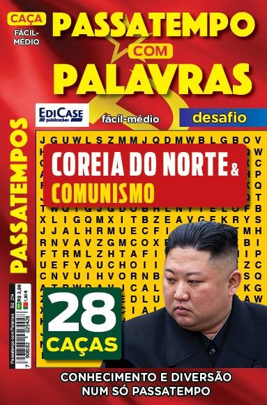 Passatempos com Palavras Ed. 214 - Fácil/Médio - Correia do Norte & Comunismo