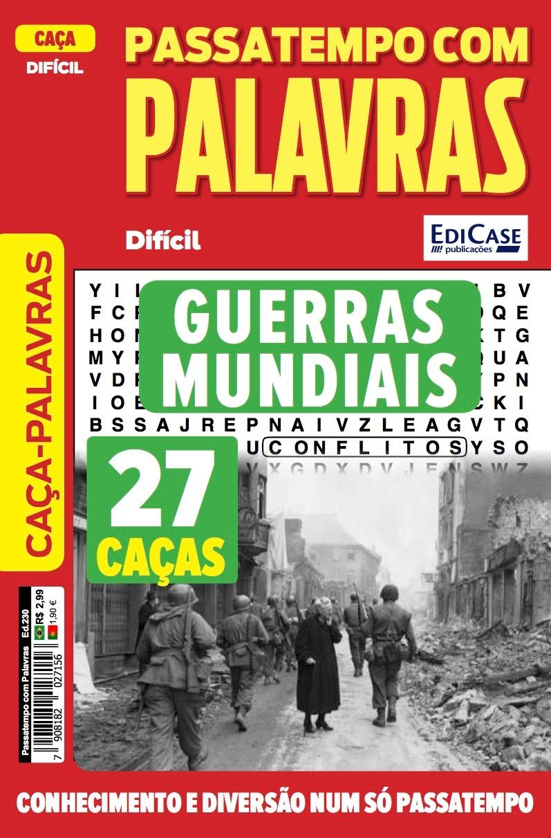 Passatempos com Palavras Ed. 230 - Difícil - Guerras Mundiais