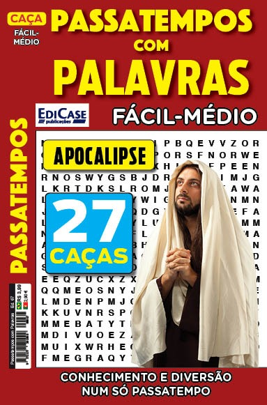 Passatempos Com Palavras Ed. 67 - Fácil/Médio - Tema: Apocalipse