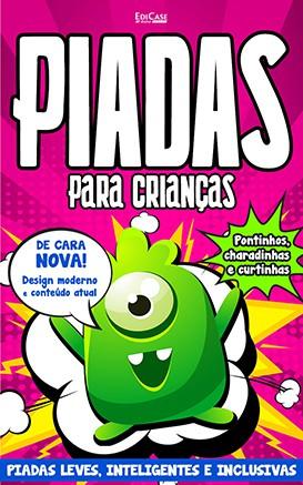 Piadas Para Crianças Ed. 34 - Leves, Inteligentes e Inclusivas - PRODUTO DIGITAL (PDF)  - EdiCase Publicações