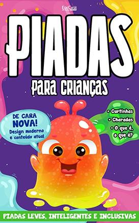 Piadas Para Crianças Ed. 35 - Leves, Inteligentes e Inclusivas - PRODUTO DIGITAL (PDF)