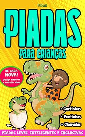 Piadas Para Crianças Ed. 40 - Leves, Inteligentes e Inclusivas - PRODUTO DIGITAL (PDF)
