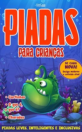 Piadas Para Crianças Ed. 46 - Leves, Inteligentes e Inclusivas - PRODUTO DIGITAL (PDF)