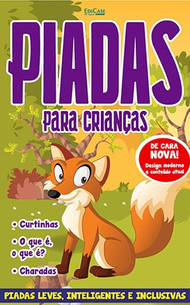 Piadas Para Crianças Ed. 47 - Leves, Inteligentes e Inclusivas - PRODUTO DIGITAL (PDF)