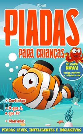 Piadas Para Crianças Ed. 49 - Leves, Inteligentes e Inclusivas - PRODUTO DIGITAL (PDF)