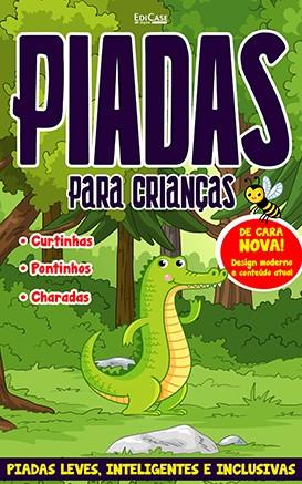 Piadas Para Crianças Ed. 50 - Leves, Inteligentes e Inclusivas - PRODUTO DIGITAL (PDF)