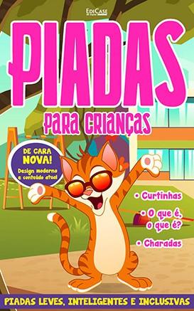 Piadas Para Crianças Ed. 51 - Leves, Inteligentes e Inclusivas - PRODUTO DIGITAL (PDF)