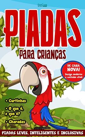 Piadas Para Crianças Ed. 52 - Leves, Inteligentes e Inclusivas - PRODUTO DIGITAL (PDF)