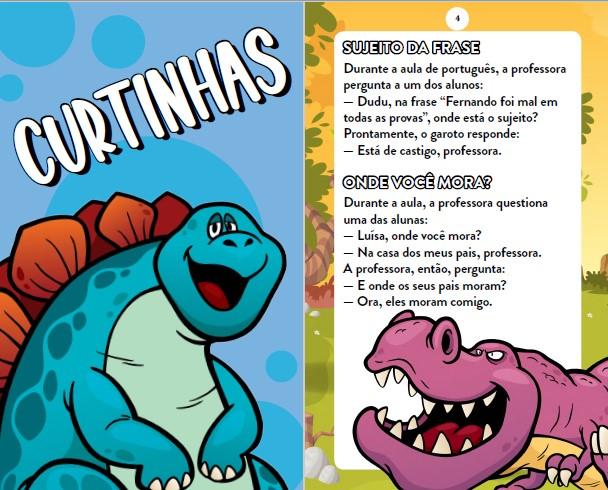 Piadas Para Crianças Ed. 77 - Curtinhas, O que é, o que é? E Charadas - PRODUTO DIGITAL (PDF)