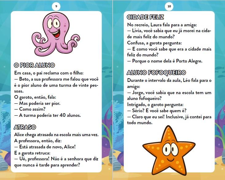 Piadas Para Crianças Ed. 86 - Curtinhas, O que é, o que é? E Charadas - PRODUTO DIGITAL (PDF)