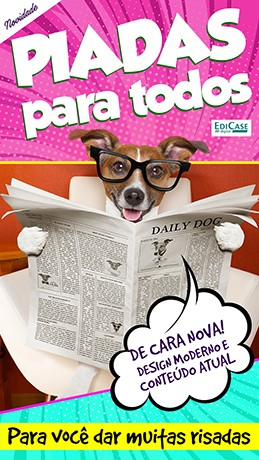Piadas Para Todos Ed. 30 - De Cara Nova  - PRODUTO DIGITAL (PDF)