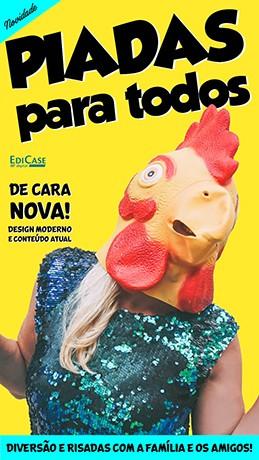 Piadas Para Todos Ed. 32 - De Cara Nova  - PRODUTO DIGITAL (PDF)