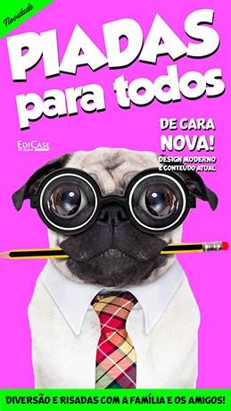 Piadas Para Todos Ed. 34 - De Cara Nova  - PRODUTO DIGITAL (PDF)