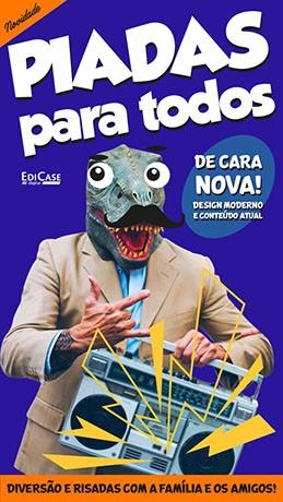 Piadas Para Todos Ed. 35 - De Cara Nova  - PRODUTO DIGITAL (PDF)