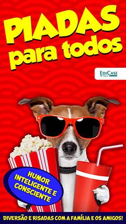 Piadas Para Todos Ed. 43 - Humor Inteligente e Consciente  - PRODUTO DIGITAL (PDF)